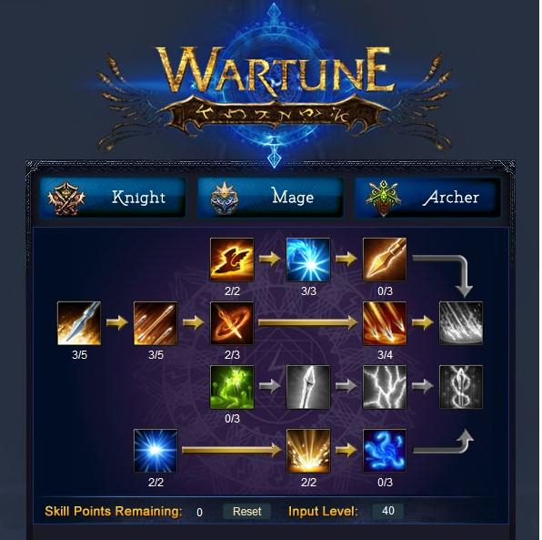 archer 40 skills