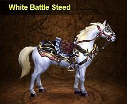 WhiteBattleSteed