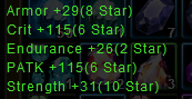 item stats
