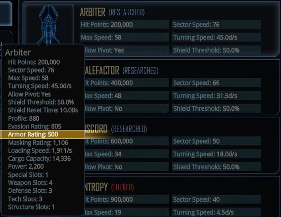ArmorStats