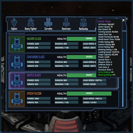 Ship Select