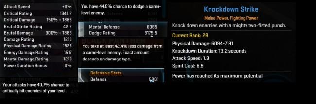 knockdown strike