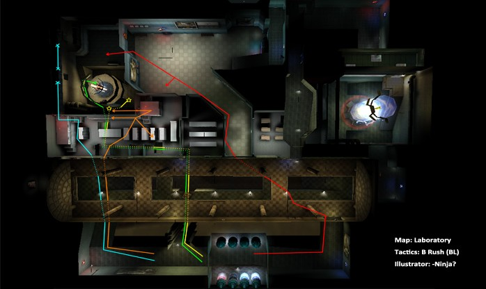 CrossFire Ghost Mode Tactical Maps Guide   GuideScroll on