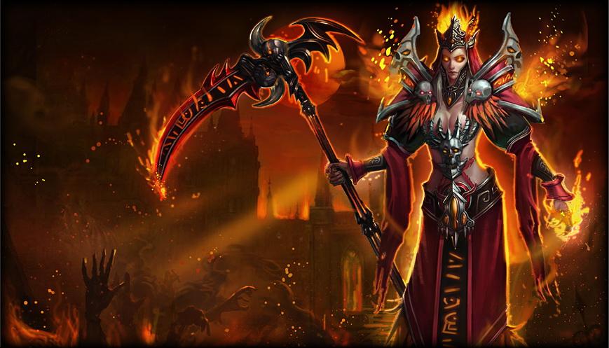 Fiery Hecate