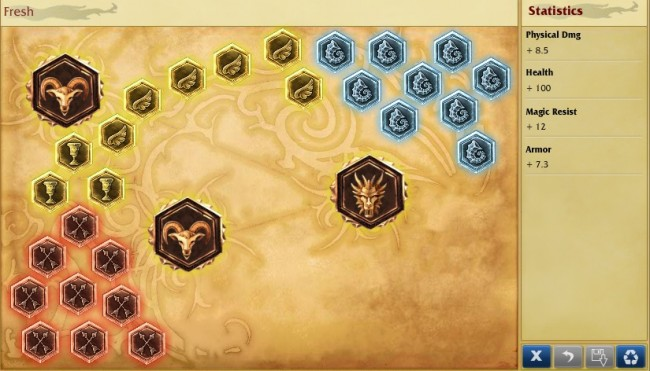AD Poke Support Runes