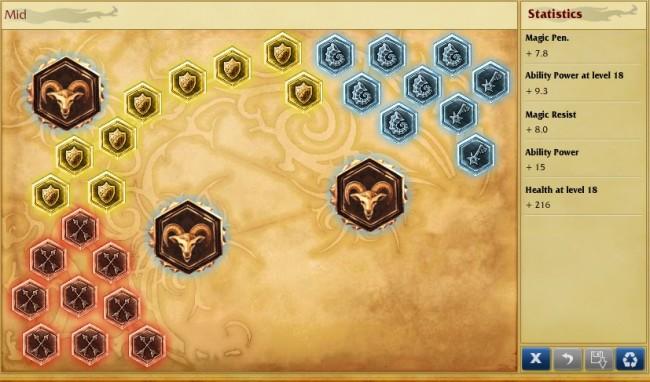 AP Mid vs AP Runes