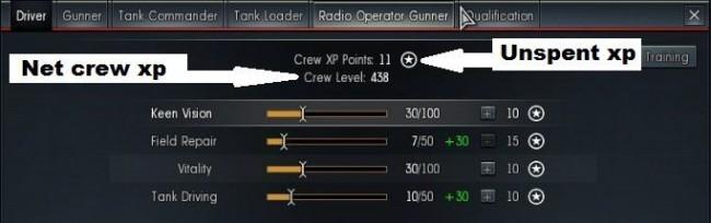crew xp