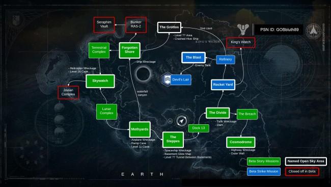 vanguard map