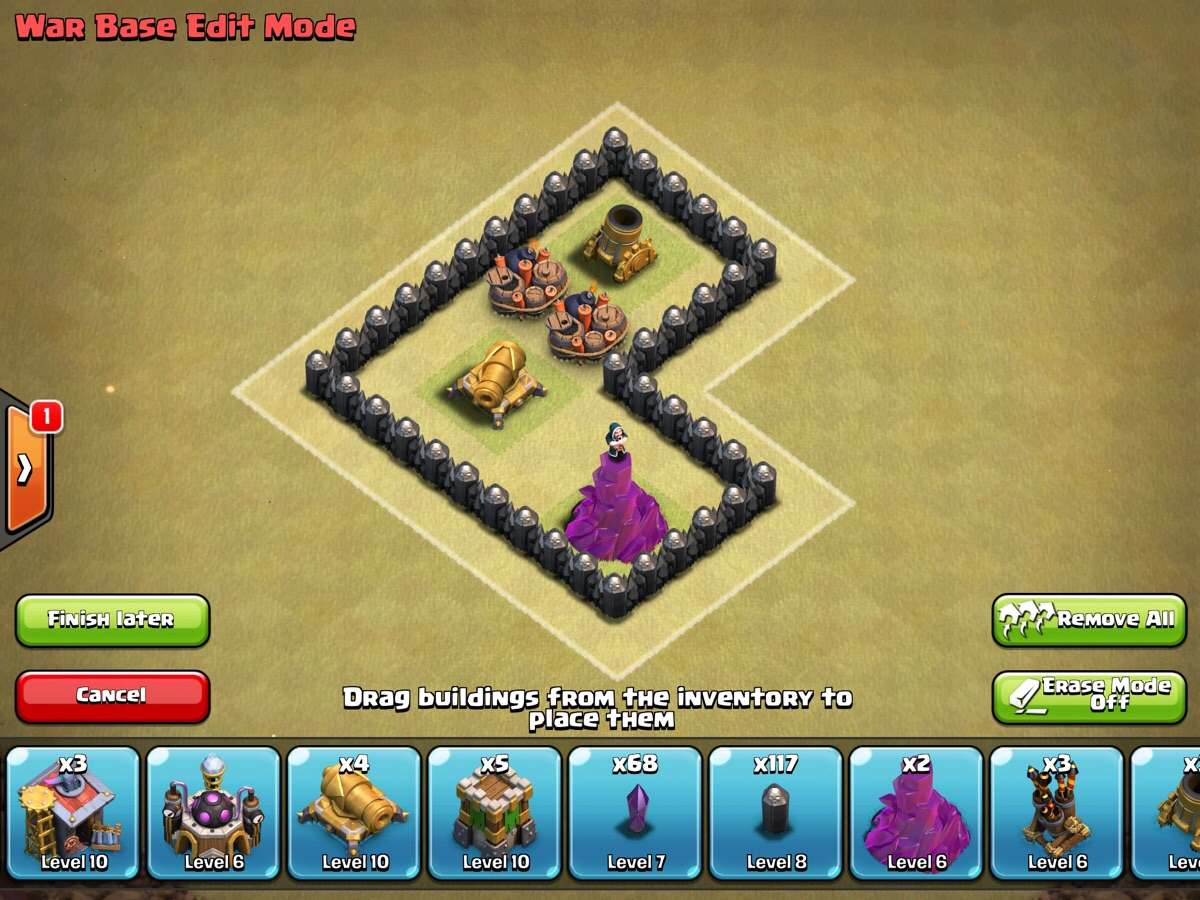 Clash of Clans TH8 War Base Design Guide | GuideScroll