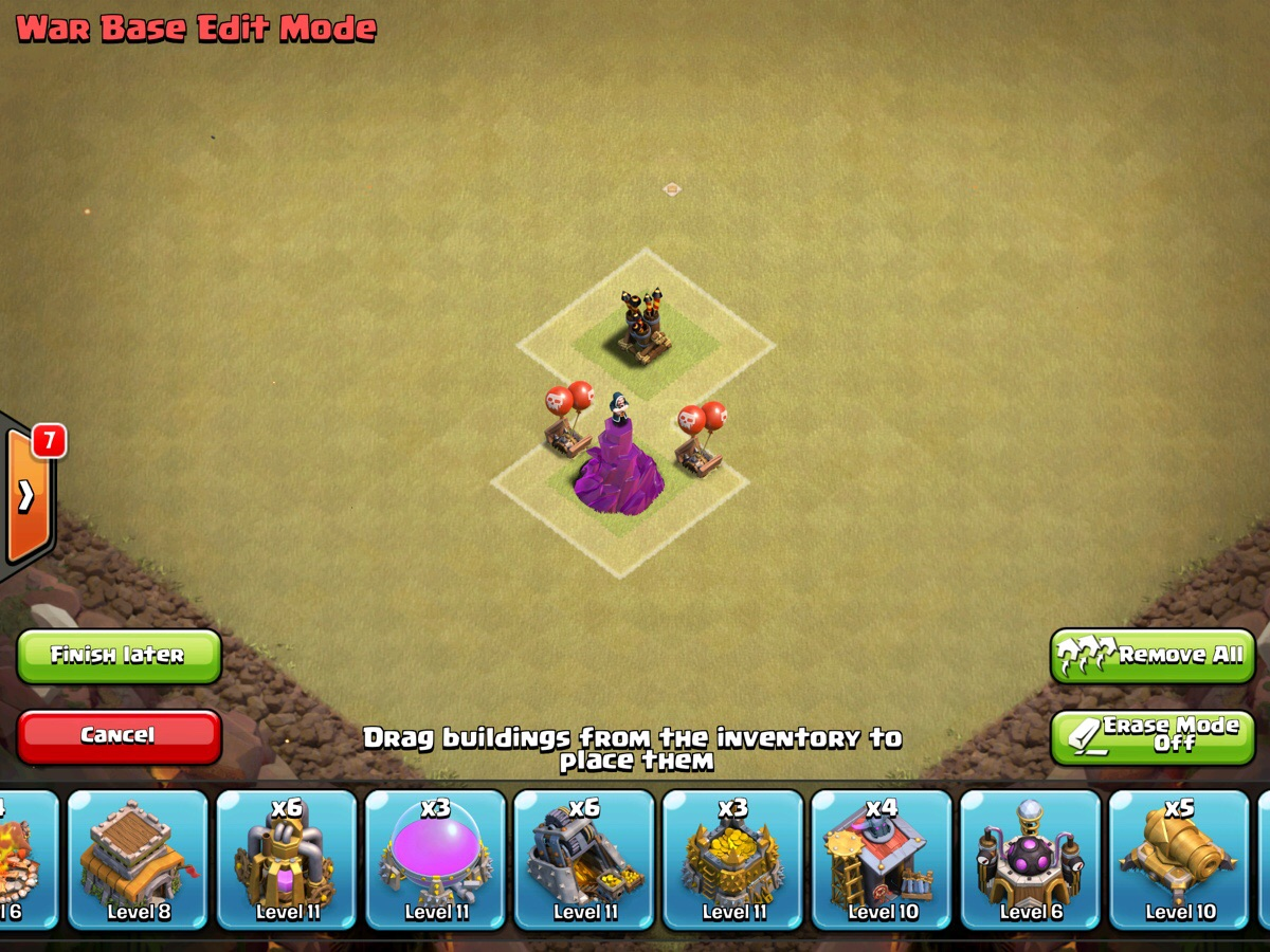 Clash of clans th8 war base design guide by jimbo831
