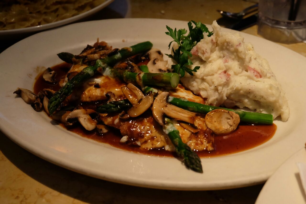 Cheesecake factory chicken maidera