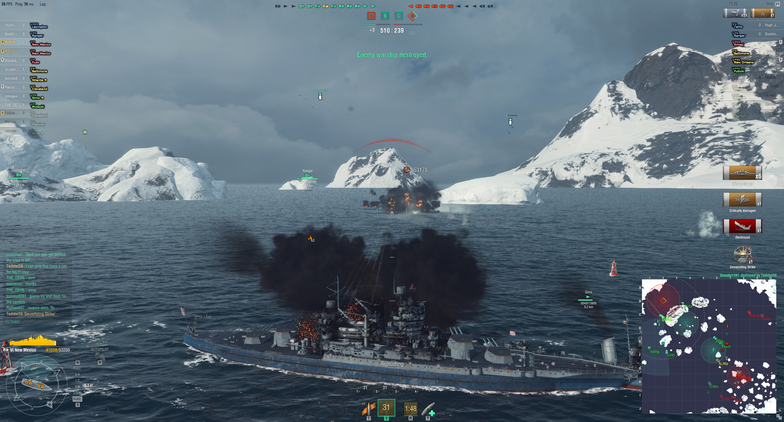 World of Warships AP Aiming Guide | GuideScroll