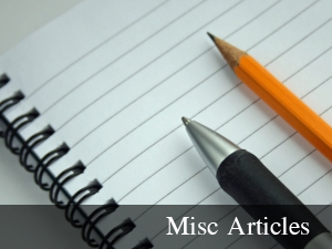 Miscellaneous Articles