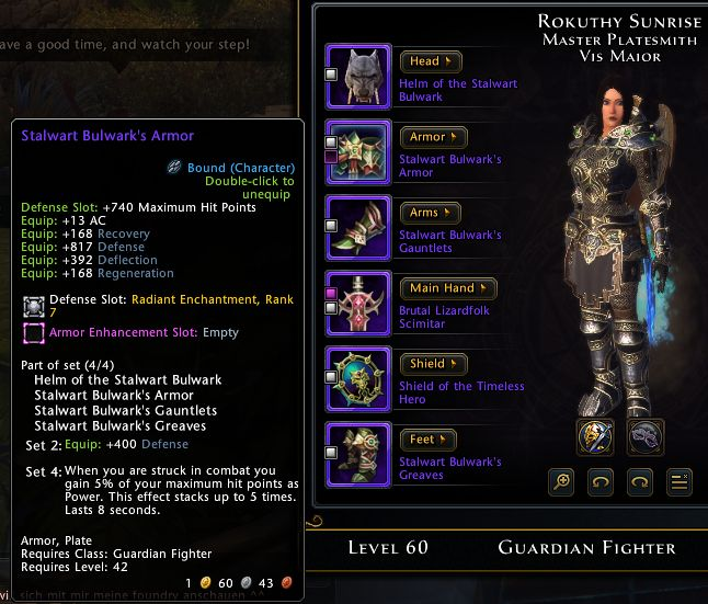 Best Tank Neverwinter 2019 Neverwinter Guardian Fighter Hybrid Tank PvE Build | GuideScroll