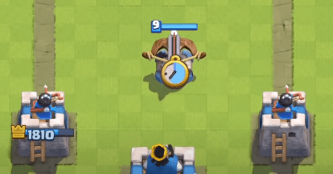 Anti Fireball Rocket Position