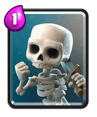 Clash Royale Skeleton